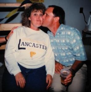 Karen and Jim grad party2