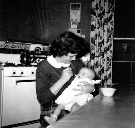 Margie & Lynnie 3 months
