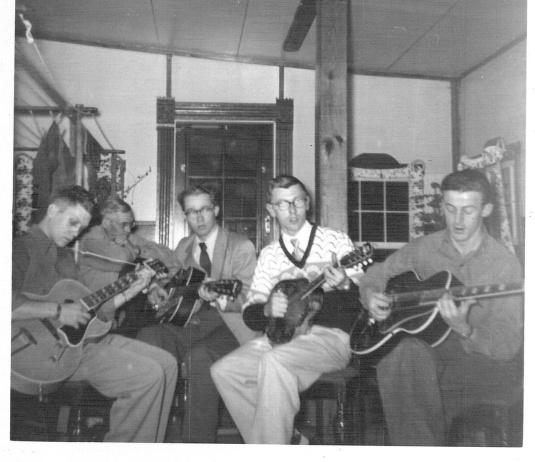 Music - Dad, Grandpa, Venricks, Buckalew